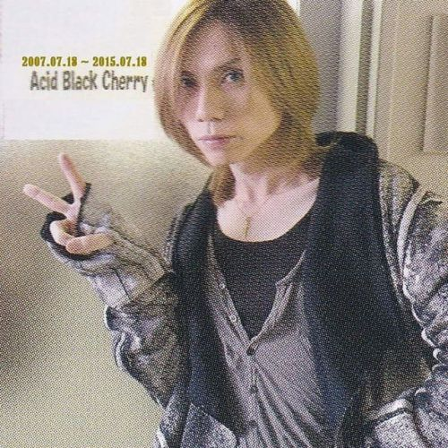 #AcidBlackCherry :  2007.07.18 ~ 2015.07.18#8周年おめでとう …♥♥‼‼ これからも、今までも、#yasuさん  #好き だよ…‼♡♡